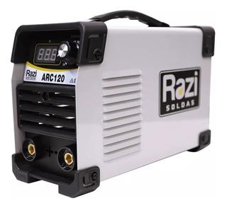 Inversora De Solda Painel Digital Arc120 110v Razi - 18406
