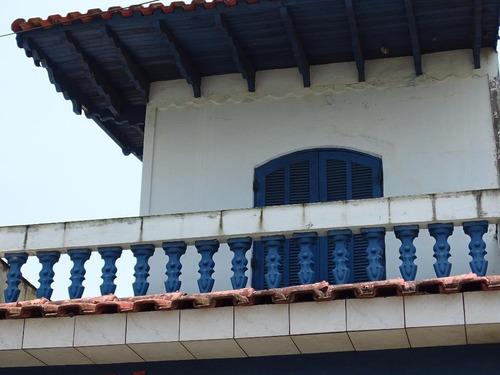 Sobrado Lado Praia 3 Dormitórios, Vista Para O Mar - Mongaguá. - Ca0121