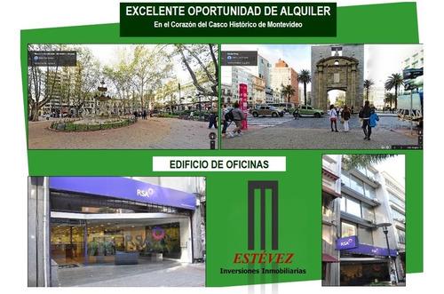 Alquiler Edif. Primera Línea En Mejor Punto Peatonal Sarandí