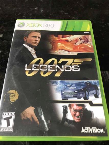 Jogo Xbox 360 007 Legends Original Mídia Física