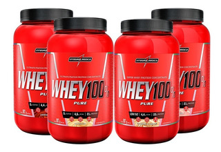4x Whey Protein 100% Pure 907gr - Integral Médica
