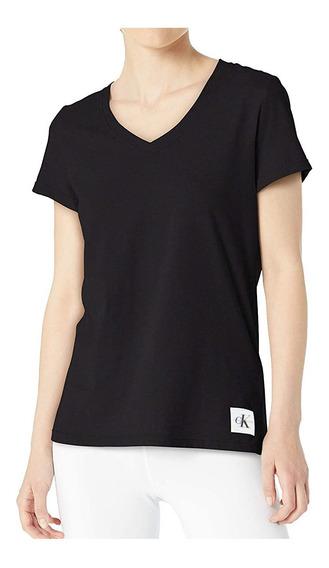 Camiseta Básica Calvin Klein Original Canelada Int1003