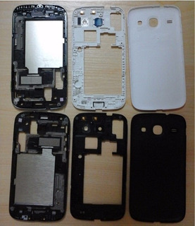 Kit Carcaça Completa Aro Tampa Bateria Galaxy S3 Duos I8262
