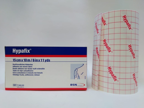 Cinta Adhesiva Hypafix 15cm X 10mts Rollo Blanco