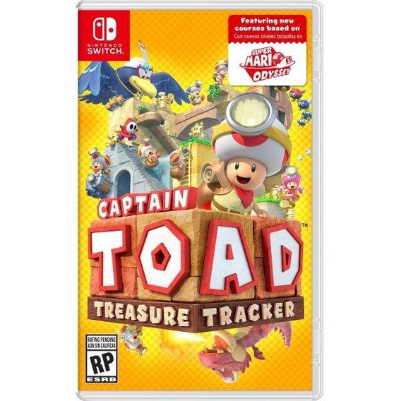 Captain Toad Treasure Tracker - Nintendo Switch