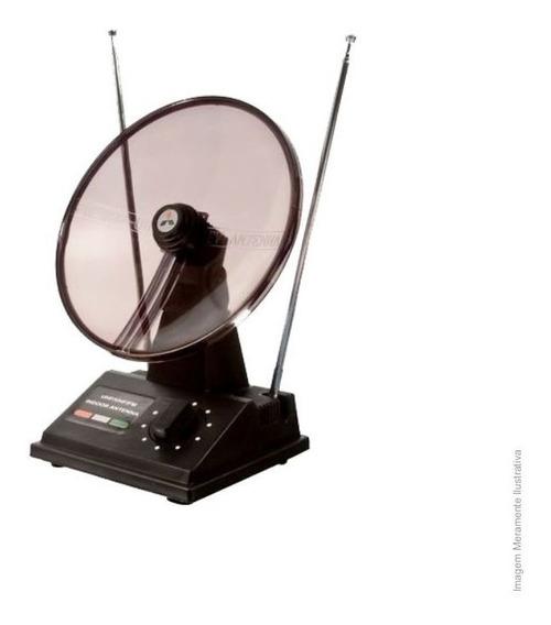 Antena Interna P/ Tv Uhf Vhf Fm Mini Parabolica Uyustools