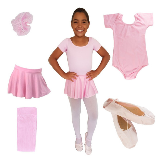 Roupa De Ballet Infantil, Balé Iniciantes , Rosa