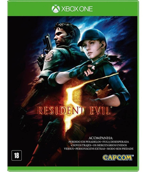 Resident Evil 5 - Xbox One - Midia Digital Off-line