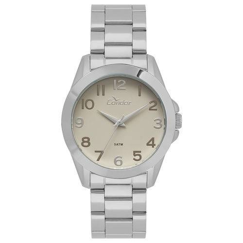 Relógio Condor Feminino Bracelete Prata - Co2035kww/3t