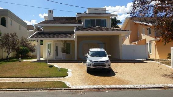 Casa Residencial Para Locação, Alphaville Campinas, Campinas. - Ca0340