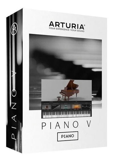 Software Arturia Piano V Pack Original Licencia Promo