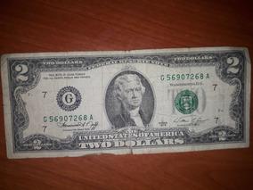Billete $2.00 Dolares G 1976