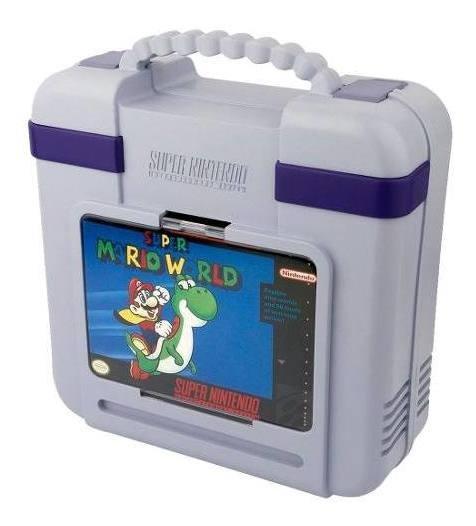 Estuche Protector Super Nes Classics Collecionable Nintendo