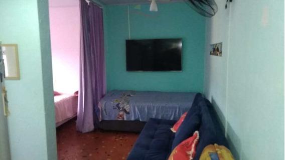 Kitnet Com 1 Dorm, Canto Do Forte, Praia Grande - V2769