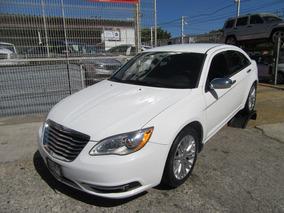 Chrysler 200 2013 2.4 Limited Piel At Blanco
