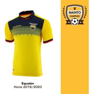 Camisa Equador 2019/2020 Home Valencia Mina Frete Grátis