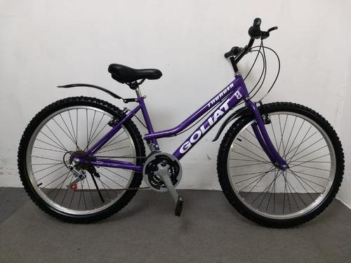 Bicicleta Montañera Goliat Mtb Atrix Aro 26 Original Nueva