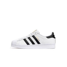 Tênis adidas Superstar Foundation Branco/preto