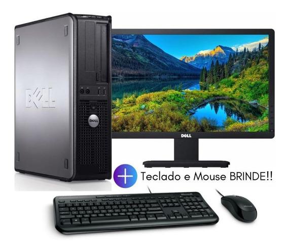 Pc Cpu Dell Core 2 Duo 4gb 250gb +monitor+teclado+mouse
