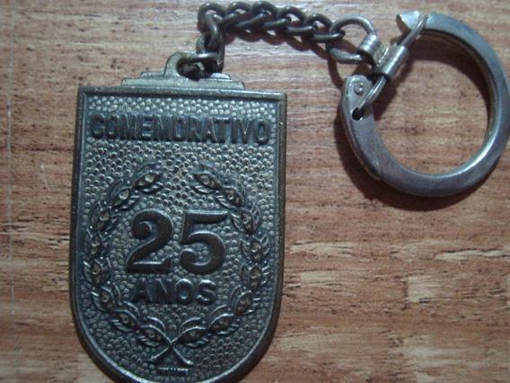 Chaveiro Antigo Comemorativo 25 Anos Zamprogna S.a