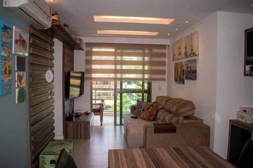 Apartamento À Venda, 82 M² Por R$ 700.000,00 - Charitas - Niterói/rj - Ap45705