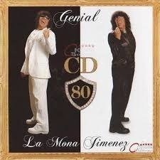 Cd La Mona Jimenez Genial En Stock Nuevo Musicanoba