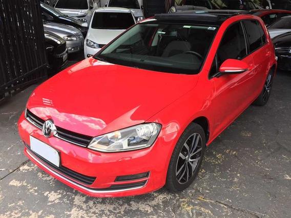 Volkswagen Golf Highline 1.4 Tsi 2014 Vermelho Com Teto