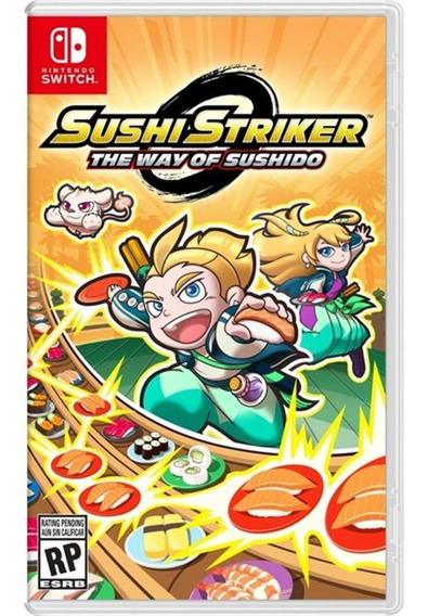Sushi Striker The Way Of The Sushido Switch Midia Fisica
