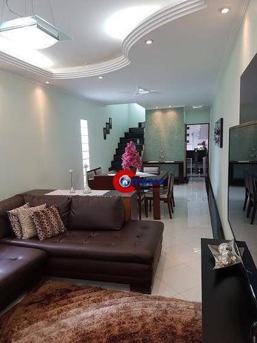 Sobrado 3 Dorms 1 Suite 7 Vagas - So2192