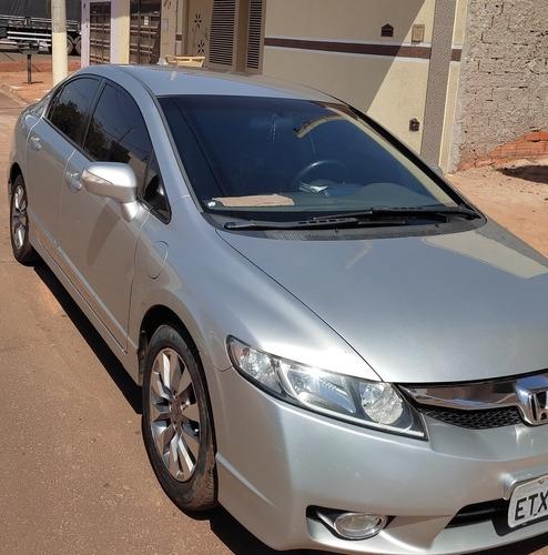 Imagem 1 de 8 de Honda Civic 2011 1.8 Lxl Couro Flex 4p