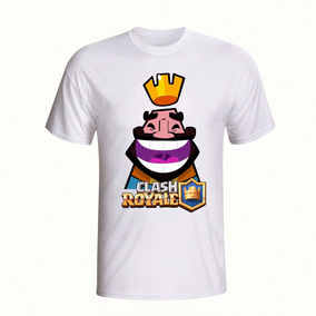 Camisa Personalizada Jogo Infantil Clash Royale Camiseta