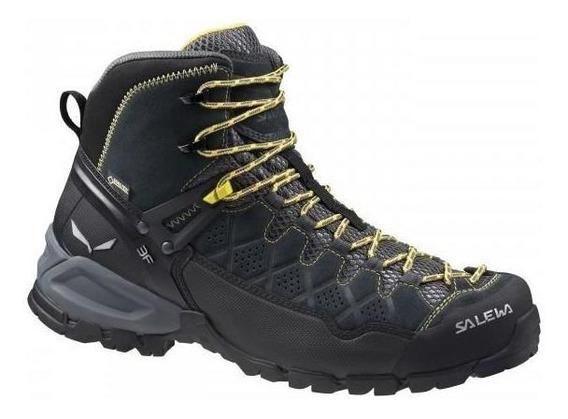 Zapato De Hombre Outdoor Salewa Alp Trainer Mid Gtx