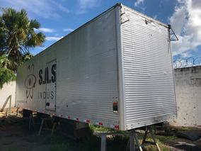 Baú Truck Assoalho De Ferro 11,50mtrs