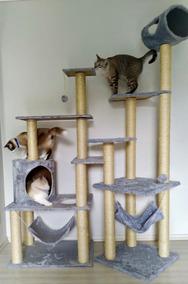 Arranhador De Gato Prateleiras Gigante