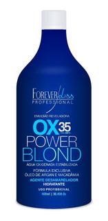 Água Oxig. Matizadora Liss Power Blond Ox 35 Volumes-obeleza