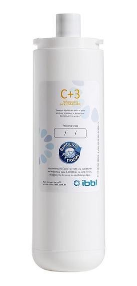 Refil Filtro Ibbl C+3 Sistema Girou Trocou 3 Etapas De