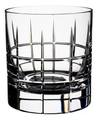 Imagen 1 de 7 de Vaso San Carlos Cristal Whisky F100 Tallado Cuadrille X250cc