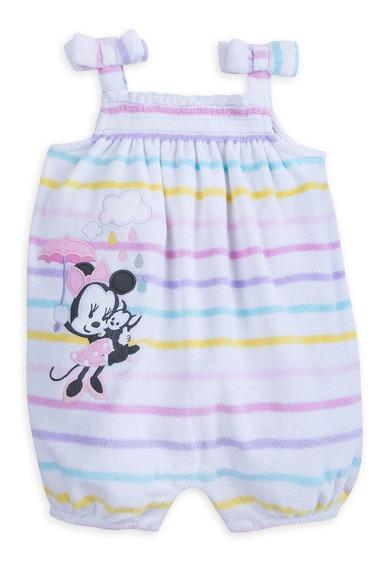 Saida De Praia Macacão Minnie Disney (18-24 Meses)