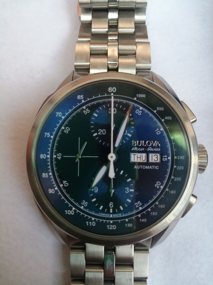 Reloj Bulova Accuswiss Cronografo Automático