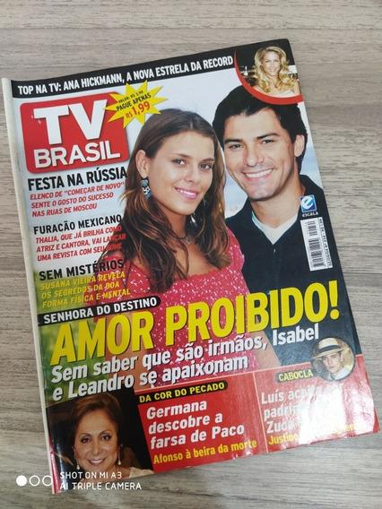 Revista Tv Brasil 234 Carol Dieckmann Thalia Susana Vieira