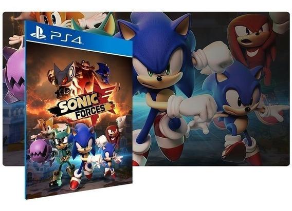 Jogo Sonic Forces Ps4 Midia Fisica Novo Lacrado Original