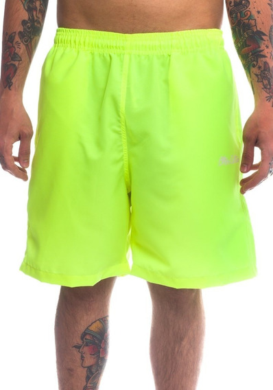 Bermuda Short Other Culture Signature Verde Neon Green Fluor