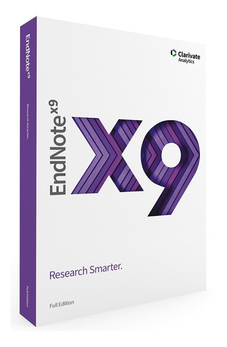 Endnote X9 Para Windows (refêrencias Bibliográficas)