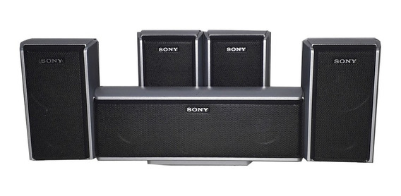 Kit Com 5 Caixas De Som Sony Ss-ts51