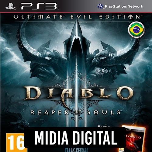 Ps3 Psn* - Diablo 3 Reaper Of Souls Ultimate Evil Edition