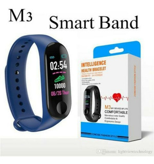 Relogio Inteligente Pulseira Smart Band M3 Monitor Cardiaco