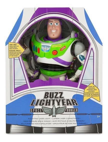 Muñeco Toy Story Buzz Lightyear Ingles Original Disney Store