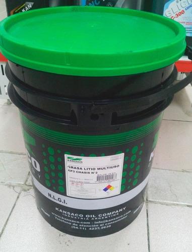 Grasa Litio Multiuso Kansaco Ep3 Grado 2 Balde 18kg