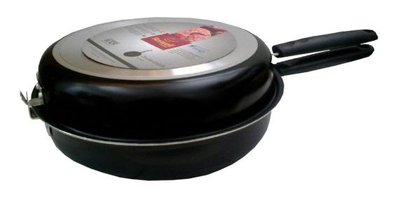 Sarten Doble Para Tortillas Roswell 26 Cm Antiadherente