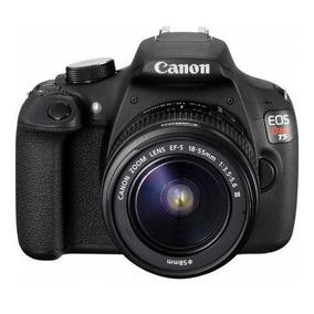 Kit Canon Canon Eos Rebel T5 Semi Nova